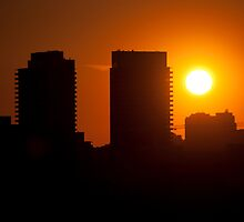 Sunset West of Don Mills (#359) by Gary Chapple