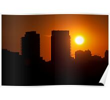 Sunset West of Don Mills (#359) Poster
