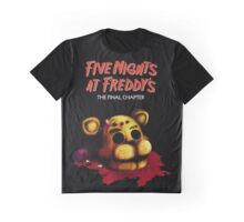 Five Nights at Freddy's The Final Chapter - FNAF 4 Graphic T-Shirt