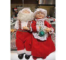 Ho-Ho-Ho!  Merry Christmas to All Photographic Print