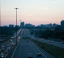 Highway 401 West of Don Mills (#398) by Gary Chapple