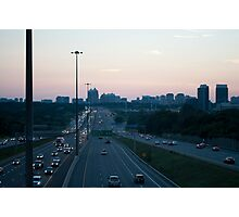 Highway 401 West of Don Mills (#398) Photographic Print
