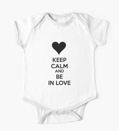 Keep calm and be in love One Piece - Short Sleeve