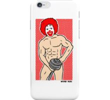 Hamburger Power iPhone Case/Skin