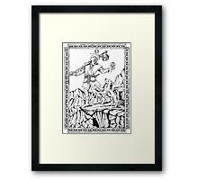 TAROT: The Fool Framed Print