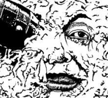 Ol' Rocket Face Sticker