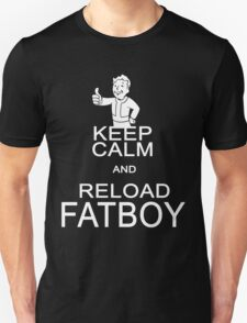 Fallout 4 - Keep Calm and reload FATBOY T-Shirt
