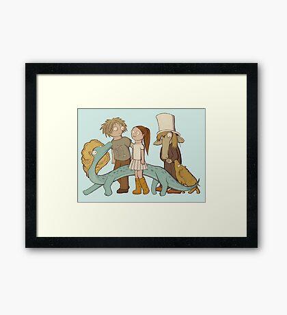Sweet Company Framed Print