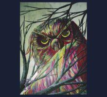 owl eyes One Piece - Long Sleeve