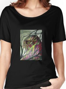 owl eyes Women's Relaxed Fit T-Shirt