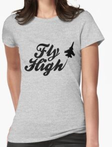 Fly HIgh Womens Fitted T-Shirt