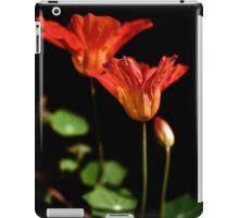 Late summer nasturtiums iPad Case/Skin
