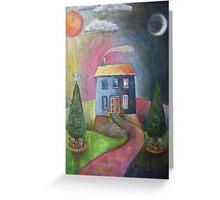 Dawn to Dusk Greeting Card
