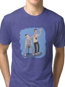 Yippeekiyay Mr. Falcoln Tri-blend T-Shirt