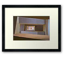 Stairwell #1 Framed Print