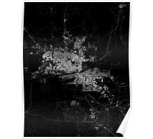 Phoenix map Arizona Poster