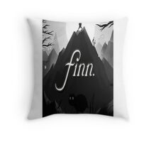 Adventure Time finn jake  Throw Pillow