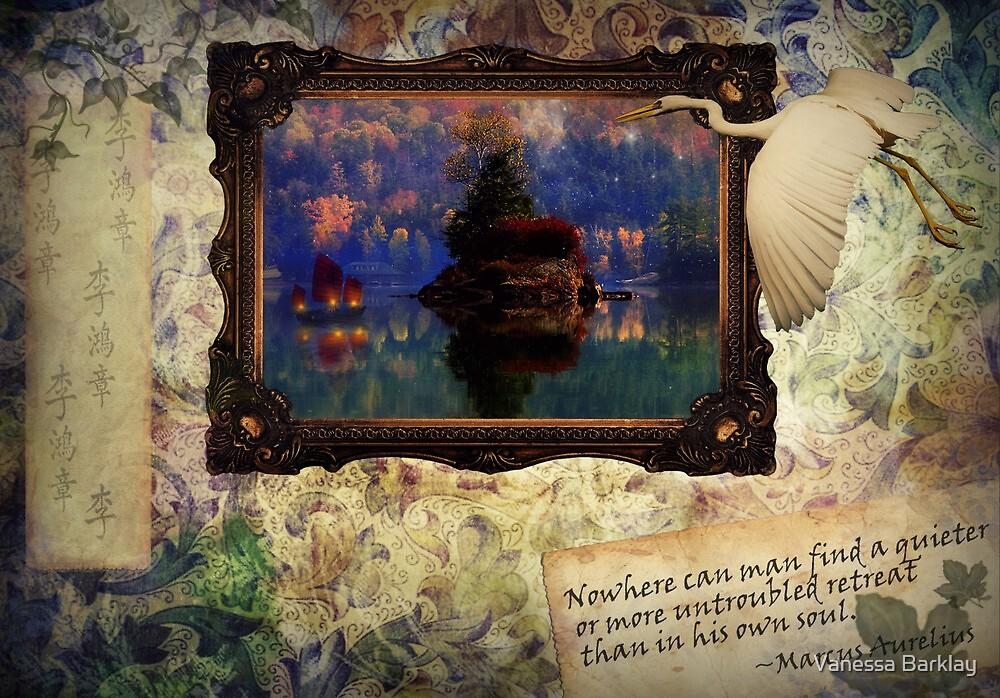 Untroubled Retreat by Vanessa Barklay