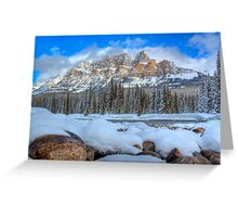 Castle Rocks Greeting Card