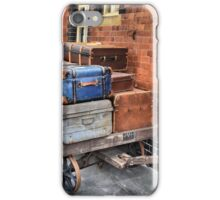 Luggage Trolley  [  reworked ] iPhone Case/Skin