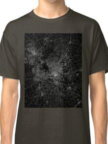 Raleigh map North Carolina Classic T-Shirt