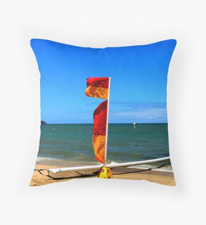 Clifton Beach Throw Pillow