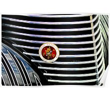 GRILLE CADILLAC LASALLE CLUB Poster