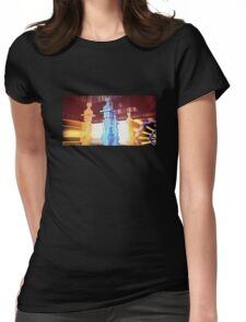 Space trip Womens Fitted T-Shirt
