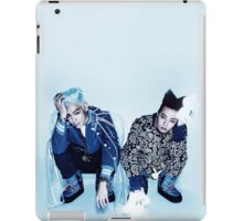 BIGBANG TOP & GD _Ice Blue iPad Case/Skin