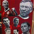 Manchester United Canvas Painting by chrisjh2210