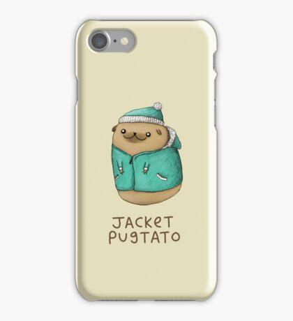 Jacket Pugtato iPhone Case/Skin