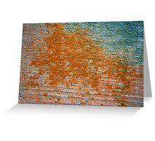 Lichen # 41 Greeting Card