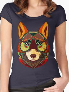The Wolf Women's Fitted Scoop T-Shirt