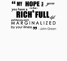 John Green Quote - Mental Illness Unisex T-Shirt