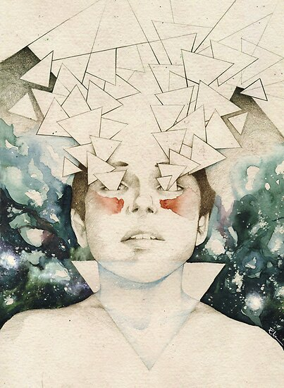 Triangle by elia, illustration