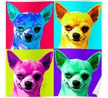 Chihuahua Pop Art Poster