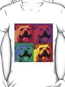 Pit Bull Pop Art T-Shirt