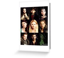 Characters Zelena Edition Greeting Card