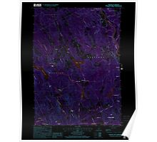 USGS TOPO Map New Hampshire NH Webster 329855 2000 24000 Inverted Poster