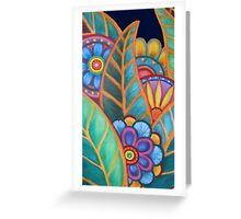 kaleidoscope Garden Greeting Card