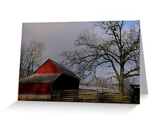 Berrvine Barn Greeting Card