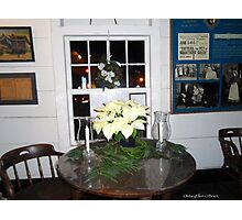 Christmas in the Adobes—Monterey—Window to the Past II Photographic Print
