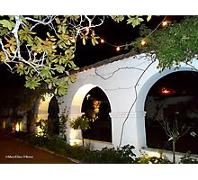 Archways of Monterey Adobes Photographic Print