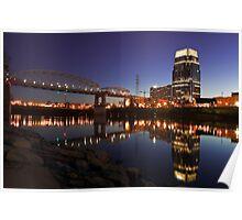 Nashville Sunset Poster