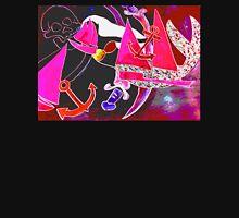 mermaid maroon  by Lollypop Arts Unisex T-Shirt