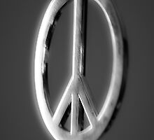 Peace sign by Jeffrey Ralph