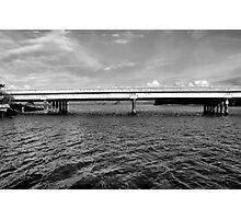 Highway 1 Bridge Over Elkhorn Slough Photographic Print