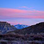 Utah Alpenglow by Michael Kannard
