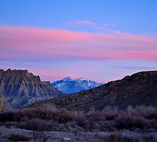 Utah Alpenglow by Michael Kannard