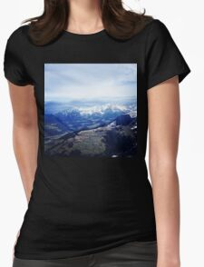 Alpine Affection Womens Fitted T-Shirt